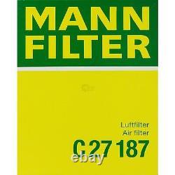 MANNOL 10L Extreme 5W-40 huile moteur + Mann-Filter Audi A4 8EC B7 RS4 Quattro