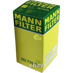MANNOL 5L Energy Premium 5W-30 + Mann-Filter filtre Audi A6 4F2 C6 2.0 TFSI