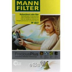 MANNOL 9L Energy Premium 5W-30 + Mann-Filter filtre Audi A4 8EC B7 S4 Quattro