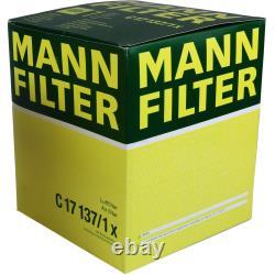 MANNOL 9L Extreme 5W-40 huile moteur + Mann-Filter Audi A6 4F2 C6 4.2 Quattro