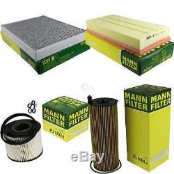 Mann-filter Inspection Set Kit VW Touareg 7LA 7L6 7L7'Origine Audi Q7
