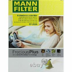 Motul 5 L 5W-30 Huile Moteur + Mann-Filter Seat Leon 1P1 2.0 TFSI Cupra R