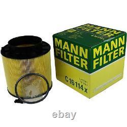 Motul 8 L 5W-30 Huile Moteur + Mann Filtre Luft Audi A4 Avant 8K5 B8 3.2 FSI