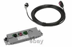 Original Antennes Module + Kufatec Faisceau Câbles DAB DAB+ Pour Audi A4 B8