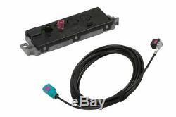 Pour Audi A4 B8 Soude Mmi 2G Original Antennes Module + Kufatec Faisceau DAB