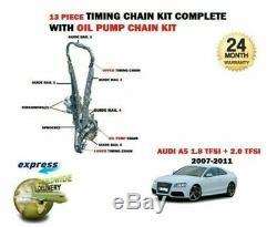 Pour Audi A5 2.0 TFSI Quattro Cdnc Cdnb 2008-2011 Distribution Chaîne Set + Kit