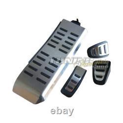 Pour Audi Q5 Original Acier Inoxydable Pédale + Repose-Pied Soutien Kit