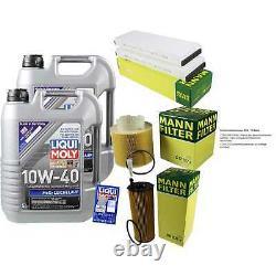 Révision Filtre LIQUI MOLY Huile 10L 10W-40 pour Audi A6 Toute Route 4FH