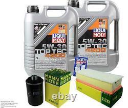 Révision Filtre LIQUI MOLY Huile 10L 5W-30 Pour Audi Tt 8J3 1.8