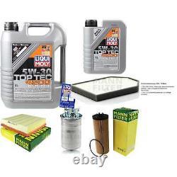 Révision Filtre LIQUI MOLY Huile 6L 5W-30 pour Audi A8 4D2 4D8 2.5