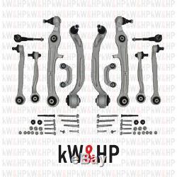 Set Estacades suspension AUDI A4 2000-2004 Kit Complet 12 pièces (KW13001)