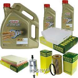 Sketch D'Inspection Filtre Castrol 7L Huile 5W30 Pour Audi Tt Roadster 8J9 2.5