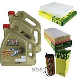 Sketch D'Inspection Filtre Huile Castrol 10L 5W30 Pour VW Touareg 7LA 7L6 7L7