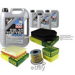 Sketch D'Inspection Filtre Huile Liqui Moly 8L 5W-30 pour Audi A8 4D2 4D8 4.2