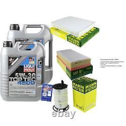 Sketch D'Inspection Filtre Huile Liqui Moly Huile 10L 5W-30 pour Audi Q7 4L 4.2