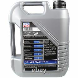 Sketch D'Inspection Filtre LIQUI MOLY Huile 10L 10W-40 pour Audi A8 4E 4.0 Tdi