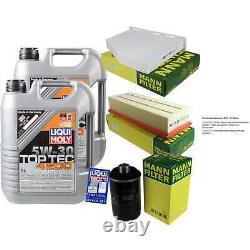 Sketch D'Inspection Filtre LIQUI MOLY Huile 10L 5W-30 Pour Audi Tt 8J3 1.8