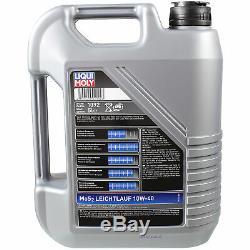 Sketch D'Inspection Filtre LIQUI MOLY Huile 6L 10W-40 pour Audi A8 4D2 4D8 2.5