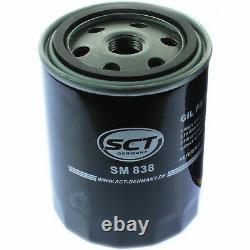 Sketch D'Inspection Filtre Liqui Moly Huile 14L 5W-40 Pour VW Golf IV 1J1 1.6