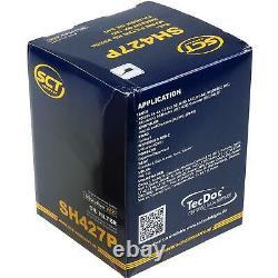 Sketch D'Inspection Filtre Liqui Moly Huile 9L 5W-40 pour Audi A4 8D2 B5 1.9
