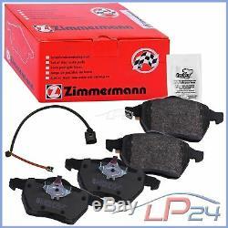 Zimmermann Sport Kit Jeu Set Disques Coat Z 100.1240.52 + Plaquettes Avant